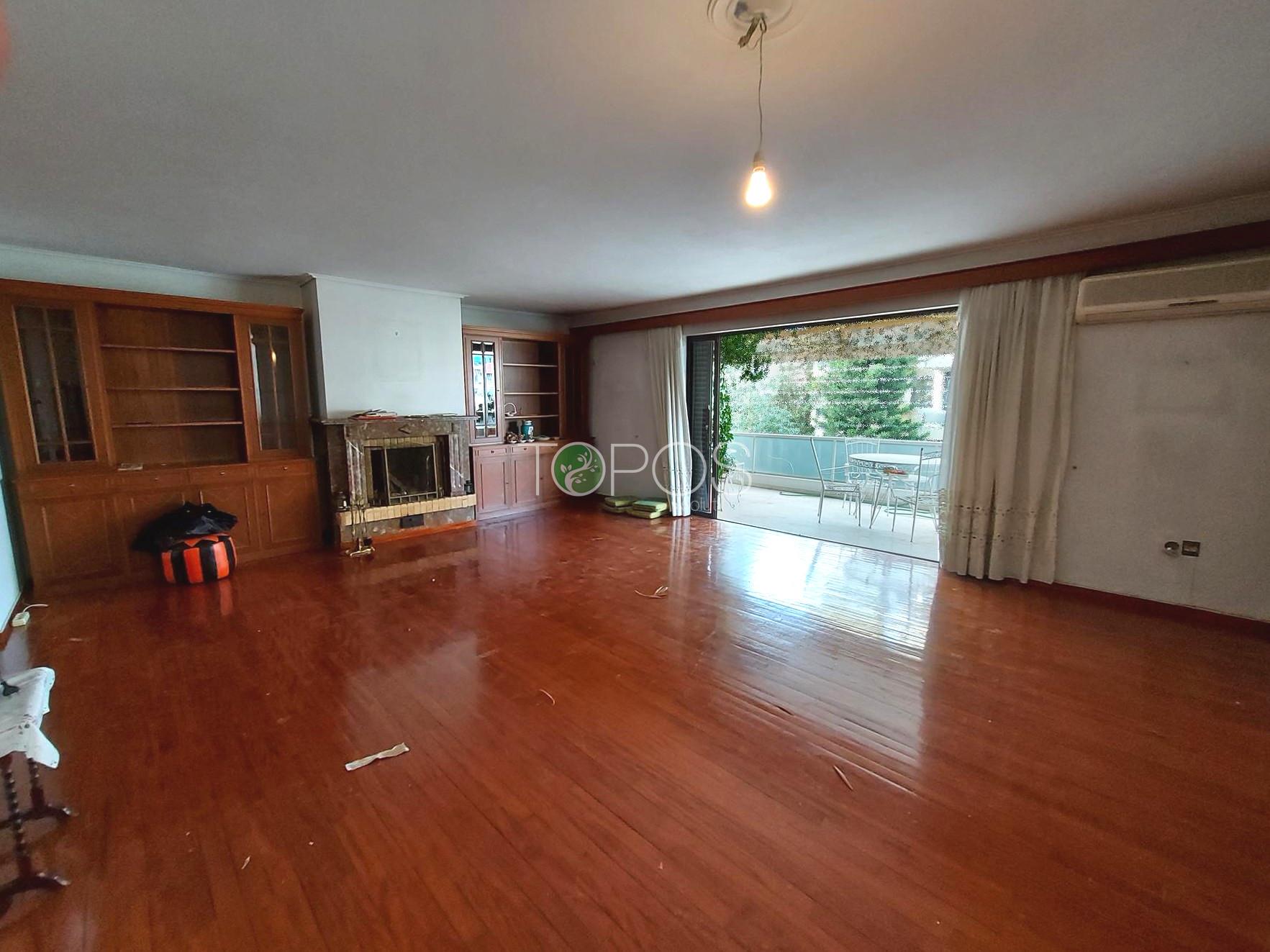 """Πωλείται στην περιοχή """"Πλατεία Δημοκρατίας"""" στον Χολαργό, διαμέρισμα 2ου ορόφου, 116 μ²"""